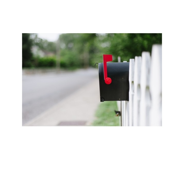 Your mailbox is vulnerable to theft- take action to protect your identity