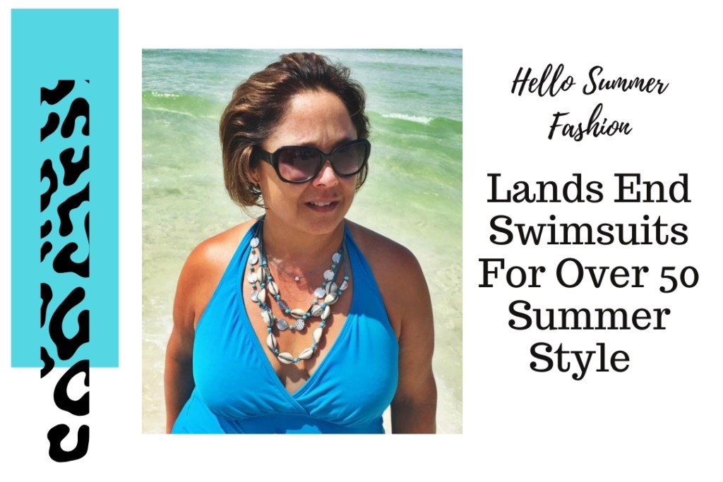 Lands End Swimsuits For Over 50 Summer Style