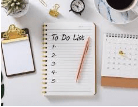 Catching Up On My To Do List During Covid 19