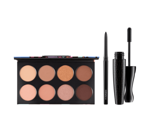 MAC Dream Team Eye Kit In Warm Tones. With a deep tan in the summer, I can wear these colors