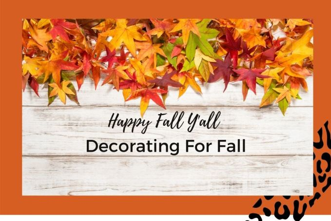 Let's talk fall decor