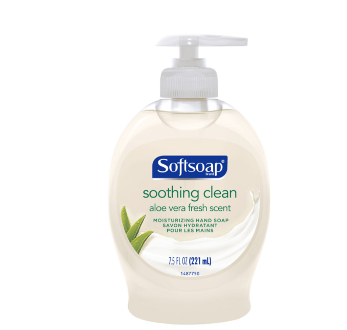 Softsoap Soothing Clean moisturizing soap