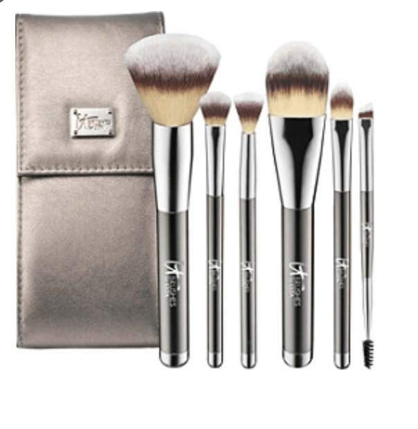 IT Brushed For Ulta Your Superhero Full Size Travel Makeup Brush Set