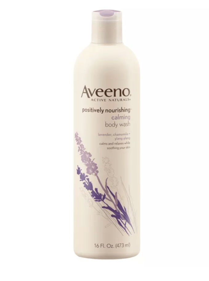 When taking a shower, it helps not to have the water too hot.  I like to use a calming/stress relief shower gel such as Aveeno Positively Nourishing Calming Body Wash. Soothing the skin and the mind all at once.