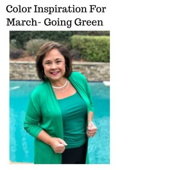 Color Inspiration For March- Go Green