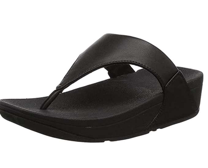 To ease the pain of plantar fasciitis, I recommend wear sandal, such as the FitFlop at all times during the healing process.