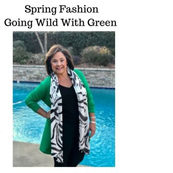 Spring Fashion- Going Wild With Green