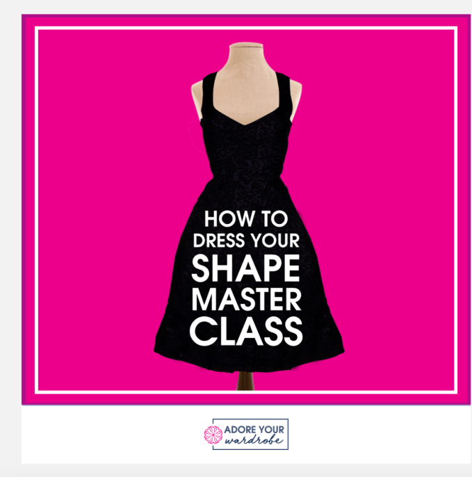 Learn about how to dress your body! How To Dress Your Shape Master Class