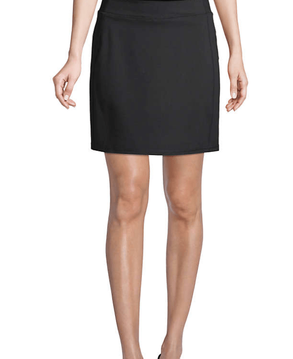Lands Ends has a Women's Active Knit Skort that is a great addition to the wardrobe
