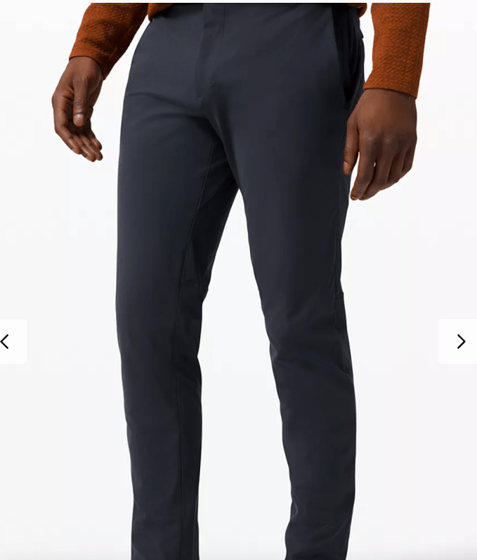 Father's Day Gift Idea- Lululemon ABC Commission pants - Most comfortable style dress pant for retirement lifestyle