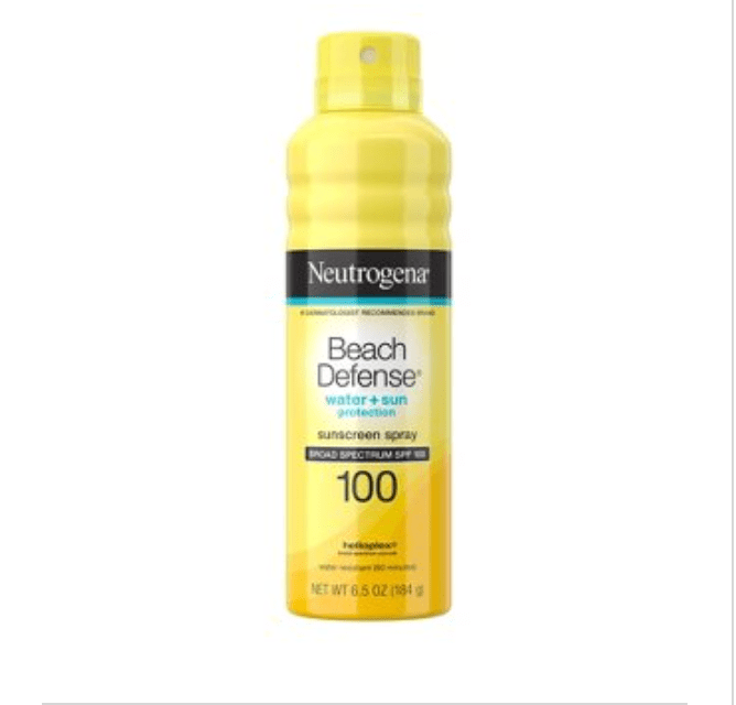 Summer Skincare- Water and Sun protection With Neutrogena's Beach Defense.
