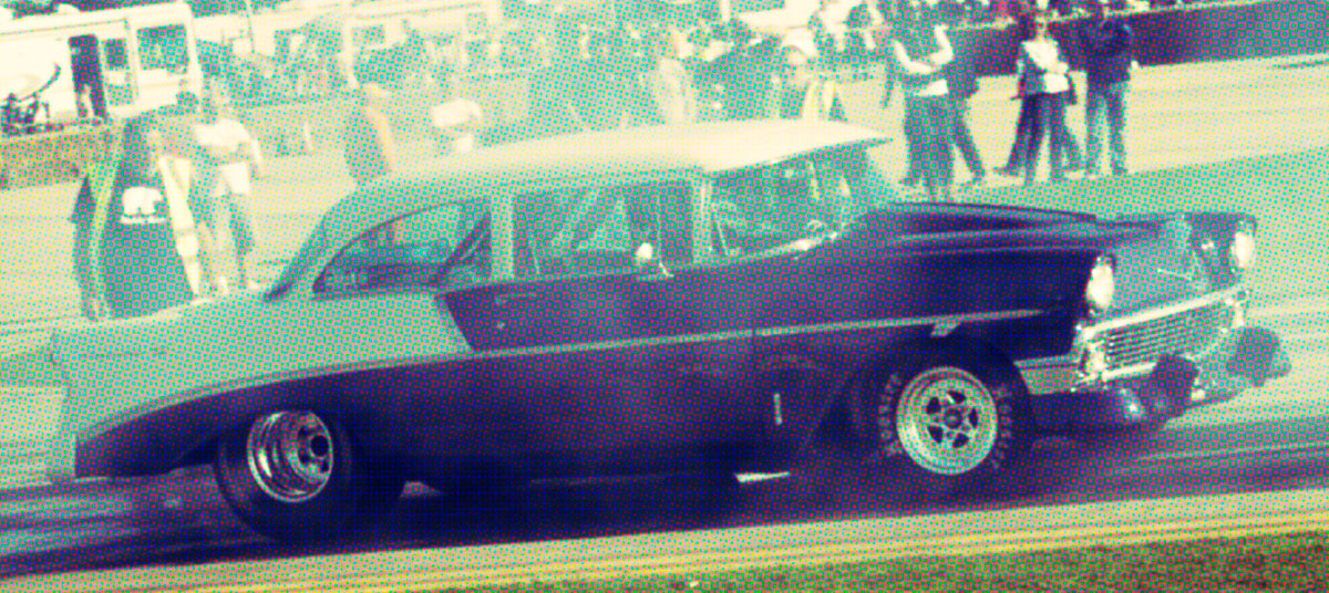 Drag racing at Sywell Classic
