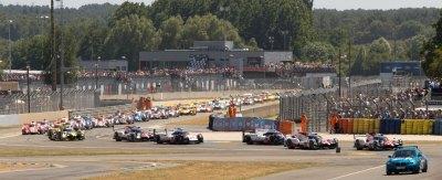 24 Hours of Le Mans formation lap