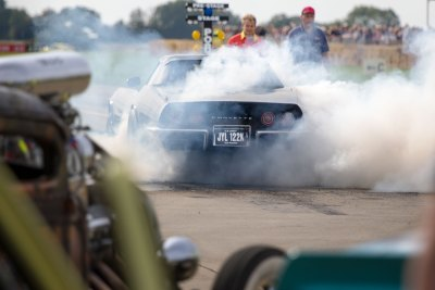 Burnout, Chevrolet Corvette Stingray, Sywell Classic