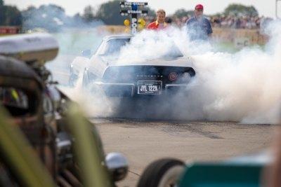 Burnout, Chevrolet Corvette Stingray, Sywell Classic