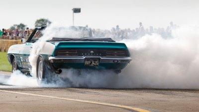 Burnout, Tin Indian, Pontiac Firebird, Sywell Classic