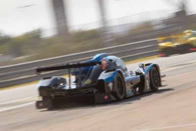 Norma M30 heads down the main straight, Circuito del Jarama