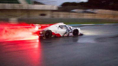 Ligier JSP3 in the wet at night, Circuito Estoril