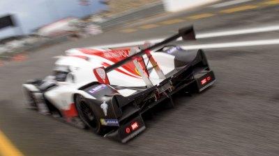 Ligier JSP3 leaves the pit lane