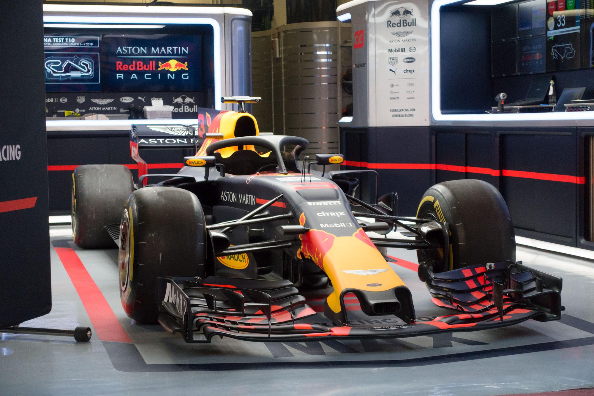 Aston Martin Red Bull Racing, Formula 1 testing, Barcelona 2018