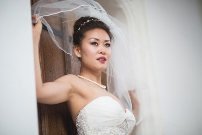 Danesfield House Wedding Bride