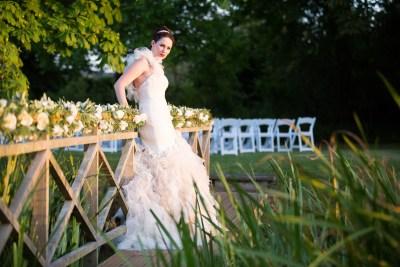 Ardington House Wedding Bride