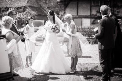Bride Wedding Hambleden Church