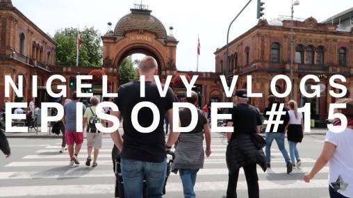 Nigel Ivy Vlogs - An epic visit to Tivoli Gardens in Copenhagen || #15