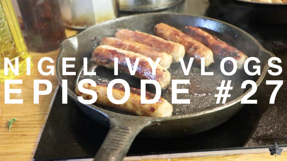 NIGEL IVY VLOGS - The BEST breakfast I've had all month! || #27