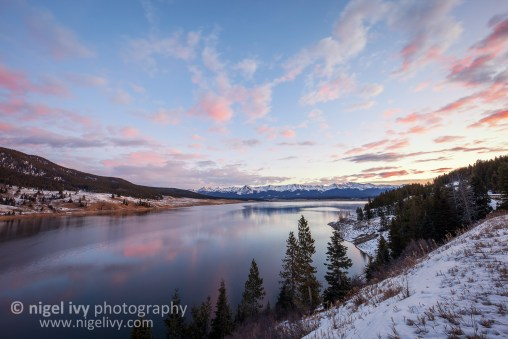 This morning Allan & I went up to Taylor Reservoir to photograph the sunrise.