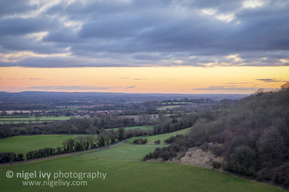 Here's a shot from England that I took at sunrise yesterday.