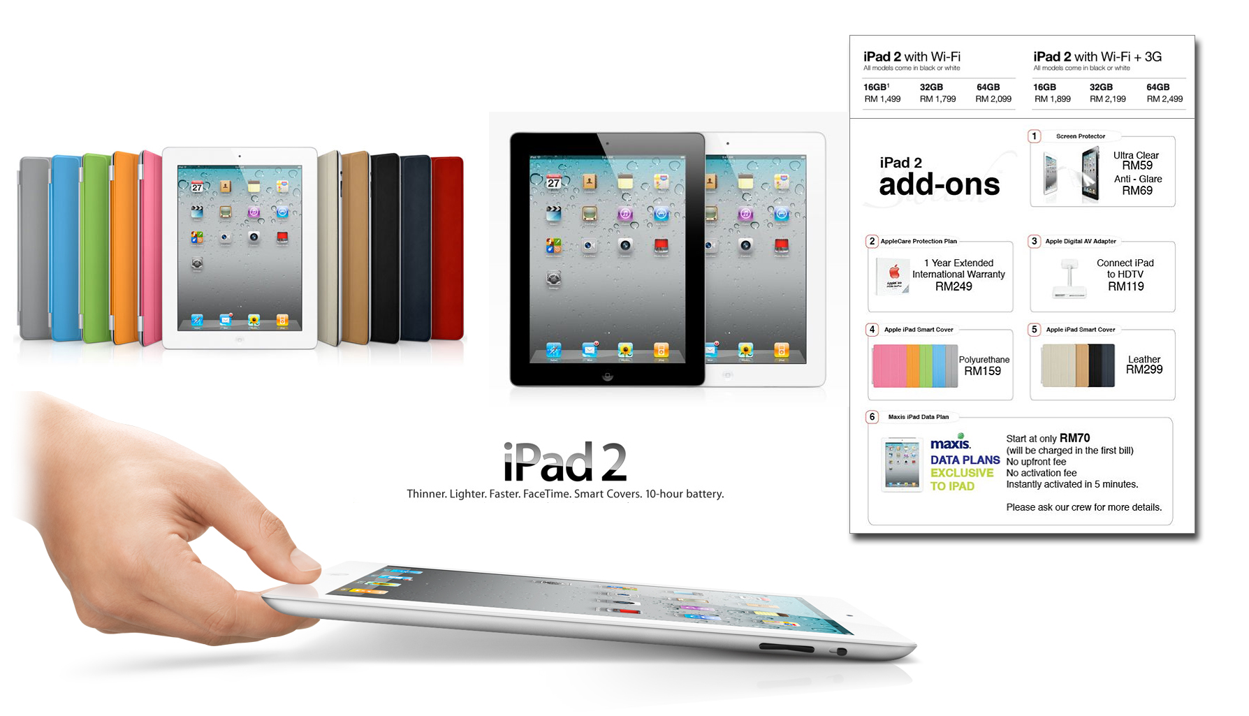 Ipad 2 Is Officially Launched In Malaysia