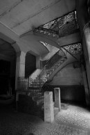 Once-grand stairs