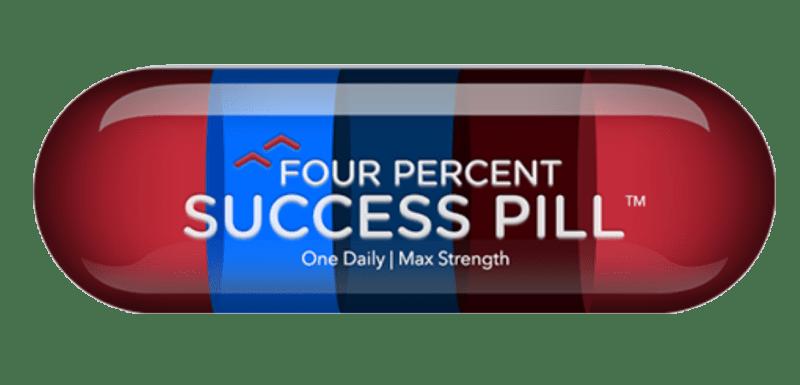 Four Percent Challenge Review Success Pill