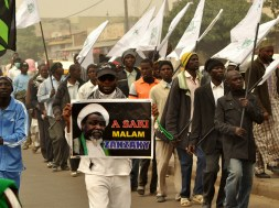 Image result for Police disrupt Shi'ites demonstration in Abuja