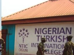 Image result for rescued students, staff of Nigerian-Turkish Int'l Colleges