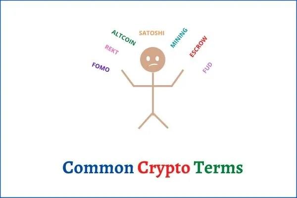 common crypto terms