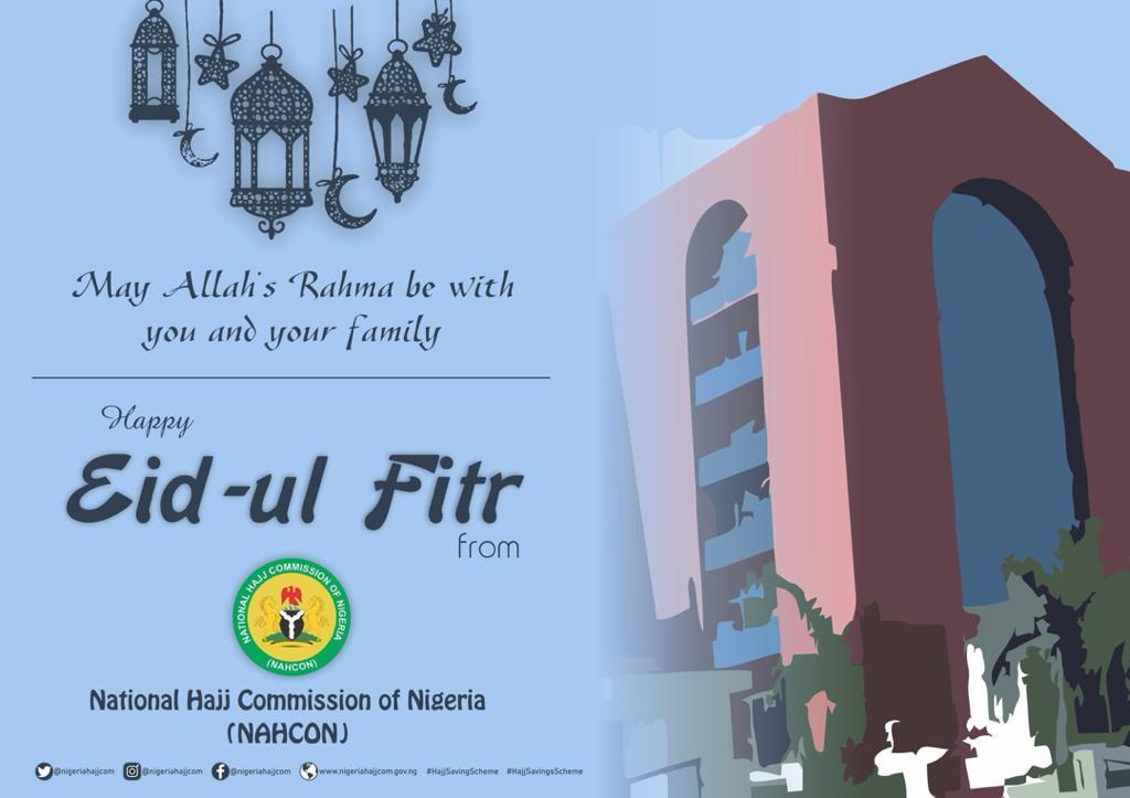 Eid Mubarak from NAHCON