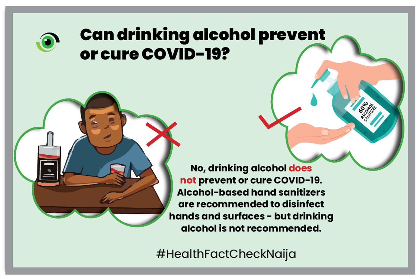 Can drinking alcohol prevent or cure COVID-19? - Nigeria Health Watch