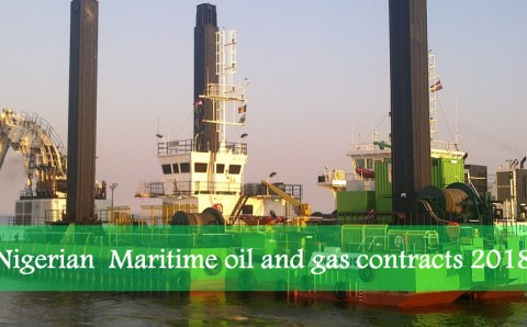Maritime oil and gas contracts 2018