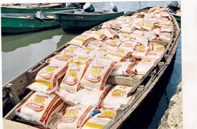Rice Smuggling: Navy arrests six suspects in Akwa Ibom