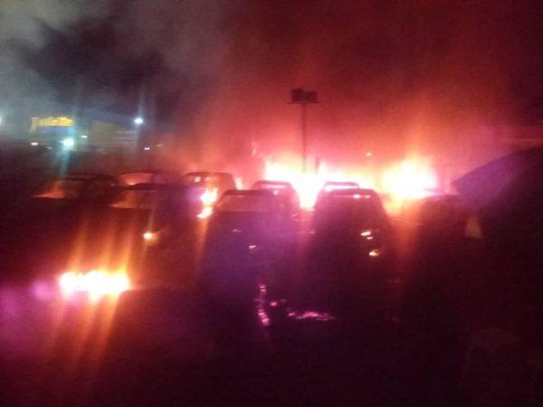 Shomolumarket burns in midnight inferno