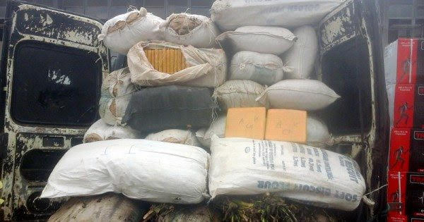Customs intercepts cannabis-filled Volkswagen– As Drug traffickers hide N483m cocaine in cargo of face masks