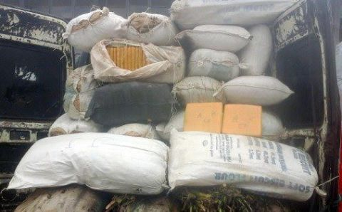 Customs intercepts cannabis-filled Volkswagen – As Drug traffickers hide N483m cocaine in cargo of face masks