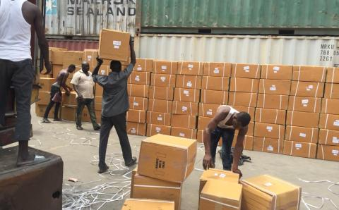NDLEA praises Police, NAFDAC for support, uncovers tramadol-laden 40ft container