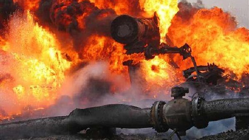 NNPC pipeline explodes in Lagos