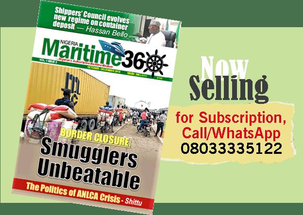 NigeriaMaritime360 Magazine now on sale!