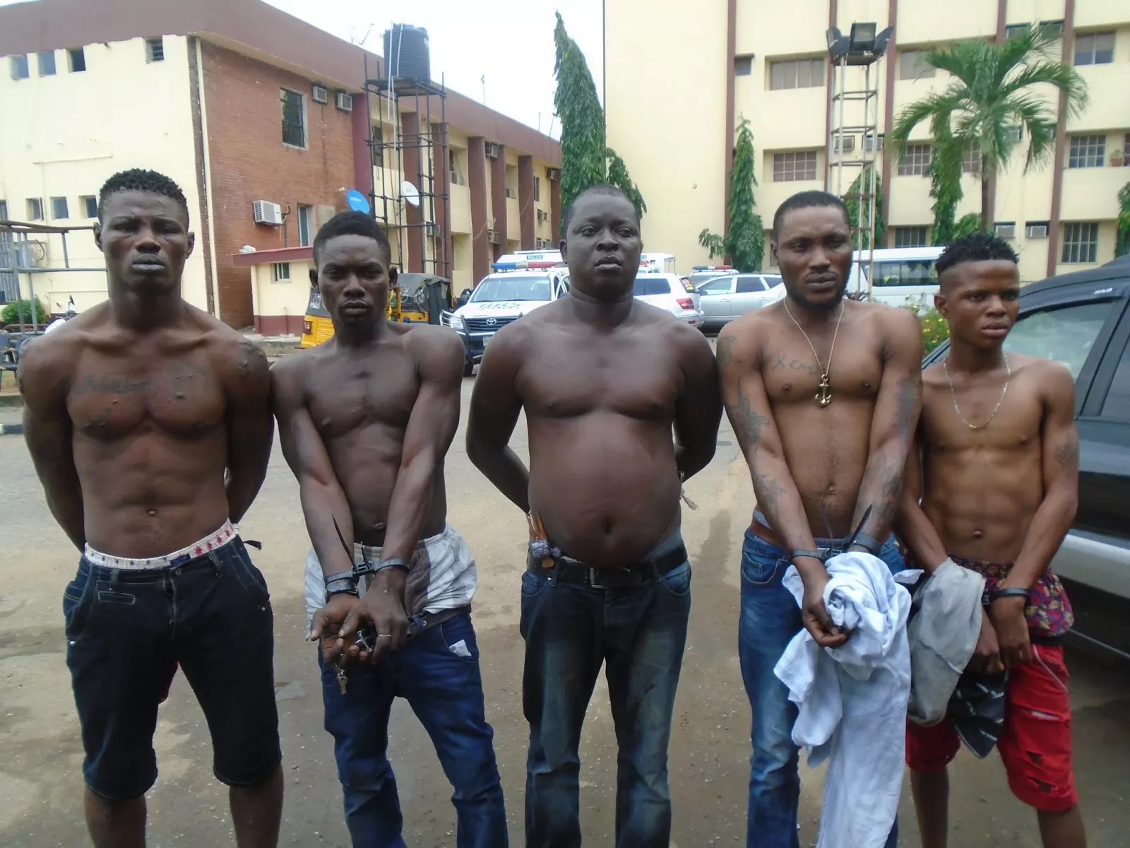Navy arrests 199 suspected cultists, armed robbers