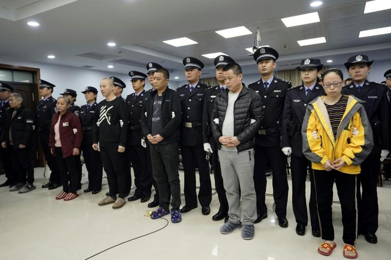 US and China hail jail verdict on nine people selling fentanyl