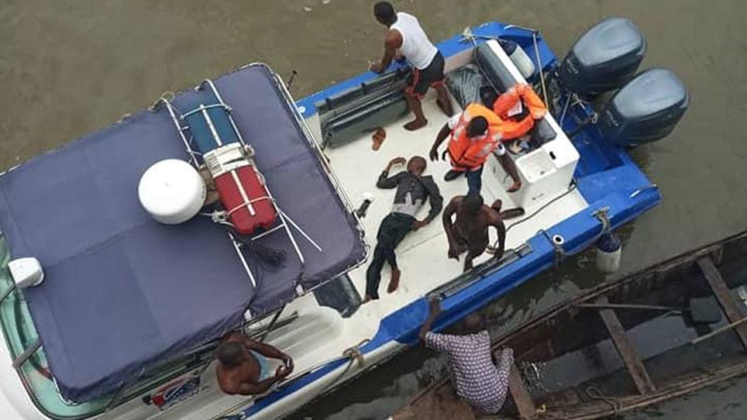 SUICIDE: Man jumps into Lagos Lagoon